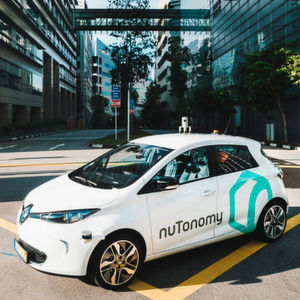 Start-up Nutonomy testet Roboter-Taxis in Singapur