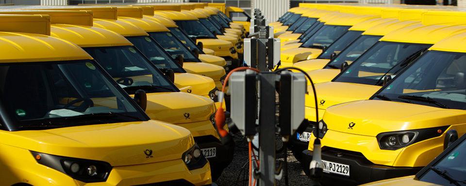 DHL produziert tausendsten Streetscooter