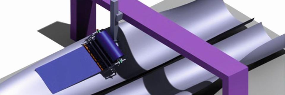 Forscher automatisieren Rotorblattfertigung