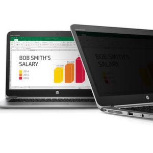 Notebook mit integriertem Blickschutz von HP