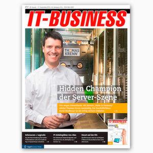 Exklusiv & vorab: die IT-BUSINESS 17/2016