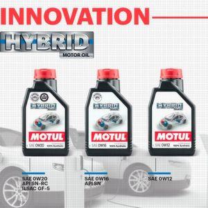 Motul: Motoröle extra für Hybridmodelle