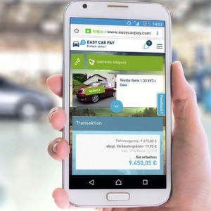 Bezahldienst Easy Car Pay vereinfacht Dienstleistung