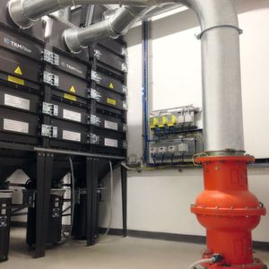 Ventiltechnik minimiert Explosionsrisiko bei Filteranlagen