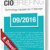 CIO Briefing 09/2016