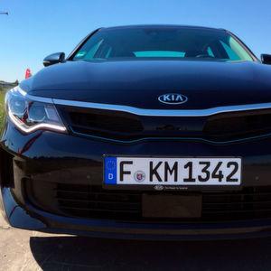 Gefahren: Kia Optima Plug-in-Hybrid