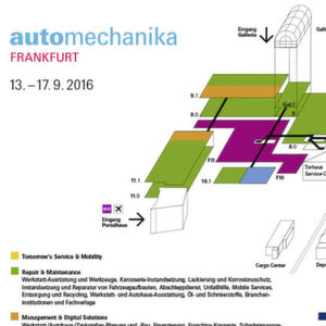 Automechanika-Messeplaner: Gewusst, wo