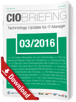 CIO Briefing 03/2016
