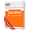CIO Briefing 02/2016
