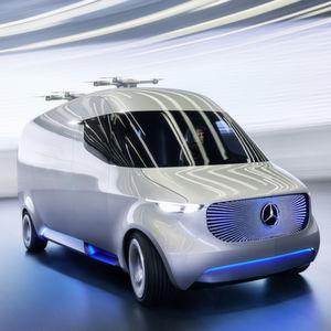 Mercedes Vision Van: Rollendes Logistikzentrum