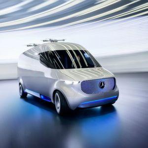 Studie Vision Van: Der Mercedes von übermorgen