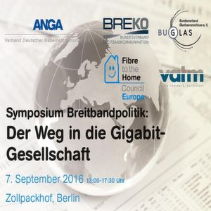 Vorfahrt für Gigabitanschlüsse in Deutschland