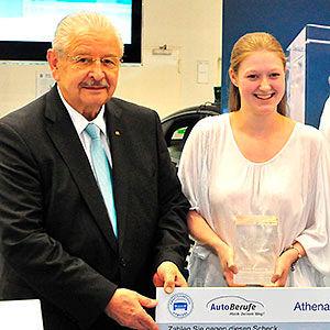 Anna Sievering erhält ersten Athena-Preis
