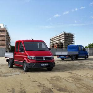 Neuer VW Crafter: Vielfältig transportieren