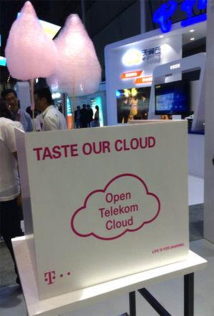Süße Verlockung? Nach Ansicht von Gartner-Analysten werden weltweit nur sieben B2B-Cloud-Anbieter das Geschäft beherrschen. T-Systems will mit der Open Telekom Cloud (OTC) die Nummer 5 sein.
