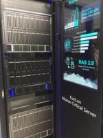 'KunLun' bezeichnet einen Rack-Server für unternehmenskritische Anwendungen, der bis zu 32 CPUs unterstützen kann, Intel CPUs inside.