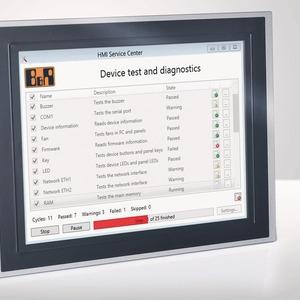 Umfangreiche Systemdiagnose für Industrie-PCs