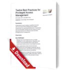 Zwölf Best Practices für das Privileged Access Management