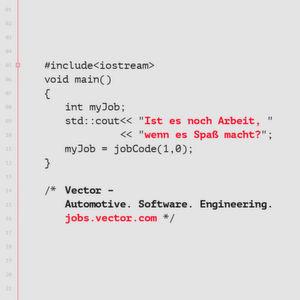 Wir knacken den Code zum Bewerber
