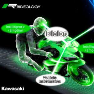 Kawasaki: intelligente Bikes für die Zukunft