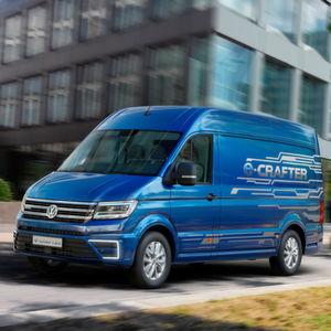 VW bringt Crafter mit Elektroantrieb
