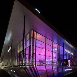 Mercedes eröffnet 55 Millionen Euro teuren Neubau