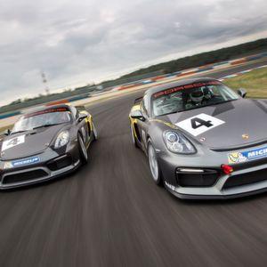 Gefahren: Porsche Cayman GT4 Clubsport