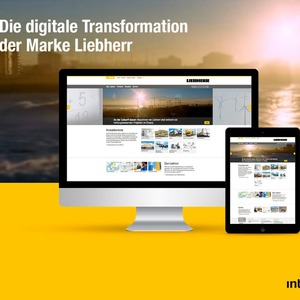 Die digitale Transformation der Marke Liebherr