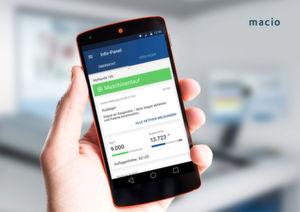Die KBA Rapida App erweitert den Leitstand von Druckmaschinen und ermöglicht Kontrolle und Wartung über ein mobiles Endgerät.