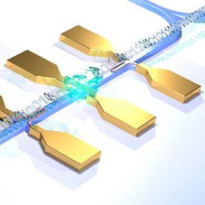 Erster quantenphotonischer Schaltkreis mit elektrischer Lichtquelle