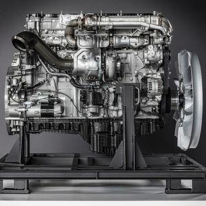 Daimler Trucks stellt neue Motoren vor