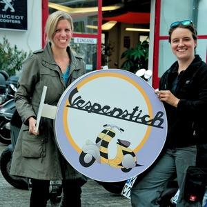 Vespenstich-Ladies: Isa Zimpel & Christine Maurer