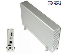 Co-World bietet »Sharedisk« an, ein Gehäuse für Network Direct Attached Storage.