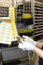 Seit Ende 2013 verfügt Conrad über eine vom TÜV Nord nach DIN EN 61340-5-1 zertifizierte ESD-Abwicklung und einen neuen, modernen EPA-Bereich (Electrostatic Protected Area; 'ESD-Schutzzone'): Im abgesperrten, neuen ESD-Bereich kommt Standardausrüstung wie Antistatik-Handgelenksbänder, Handschuhe, ESD-konforme Kleidung und Erdungsmatten zum Einsatz. Zudem werden Schulungen für alle Mitarbeiter durchgeführt, die mit der Handhabung und dem Transport elektronischer Bauteile oder Baugruppen betraut sind.