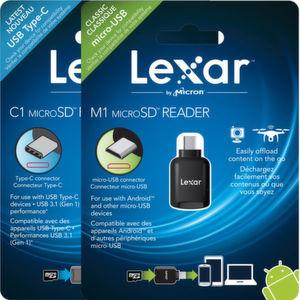 Neue microSD-Lesegeräte von Lexar