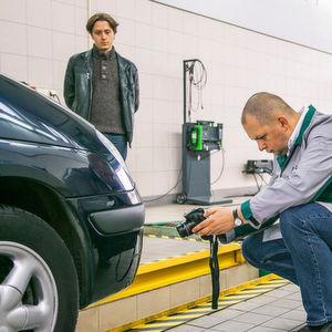 Mängelquote der Autos von Fahranfängern sinkt