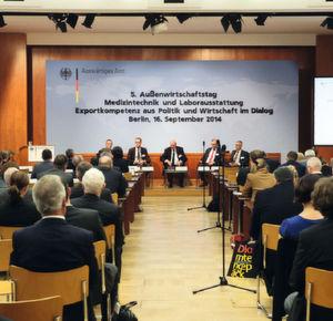Außenwirtschaftstag Spectaris: Blick über den Tellerrand