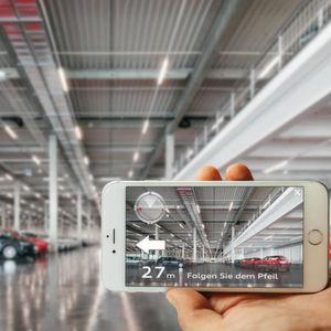 Augmented Reality: Das Autohaus-Navi