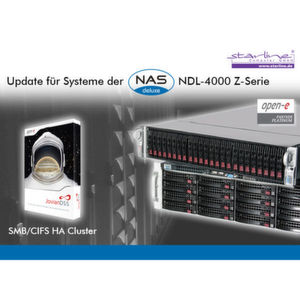 Kostenloses Update ermöglicht SMB/CIFS-High-Availability-Cluster