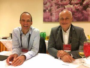 (von links) Werner Knoblich, Senior Vice President und Genral Manager EMEA mit Rainer Liedtke, Senior Director Sales und Country Manager Deutschland und Österreich im Interview.