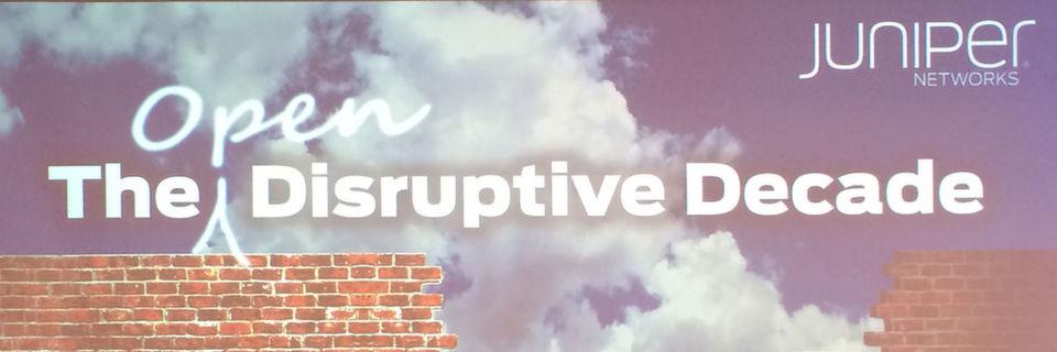 Für Juniper hat mit SDN, NFV & OpenStack die disruptive Dekade des Open Networkings begonnen.