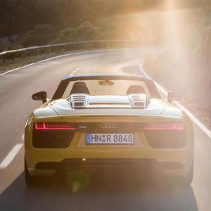 Audi R8 Spyder: Ein echter Racer
