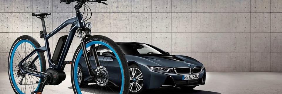 BMW: E-Bike mit einem Hauch von i8
