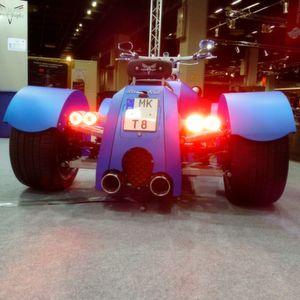 iKinSolution: Kreuzung aus Quad und Chopper