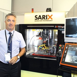 Micro EDM milling machine is precise, user-friendly, compact