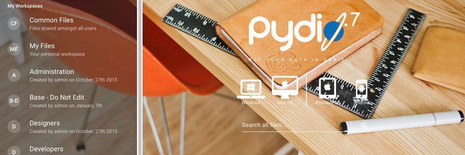 Booster beschleunigt Pydio 7
