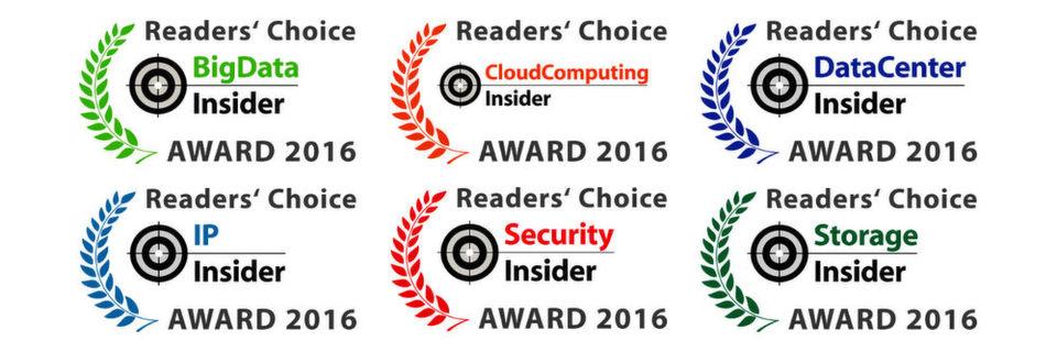 Bereits zum zweiten Mal küren die Vogel IT-Medien im Herbst 2016 die Gewinner der Readers' Choice Awards.