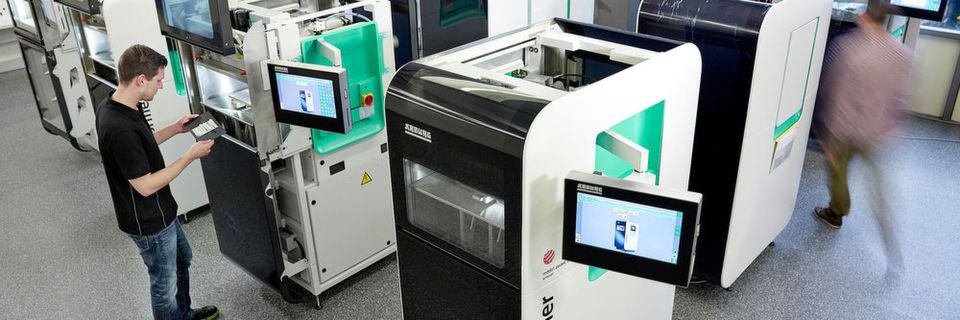 Neue Materialien und Anwendungen des Freeformers auf der Formnext 2016