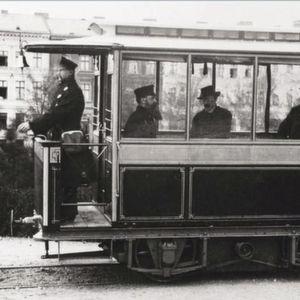 1881: Erste elektrische Straßenbahn