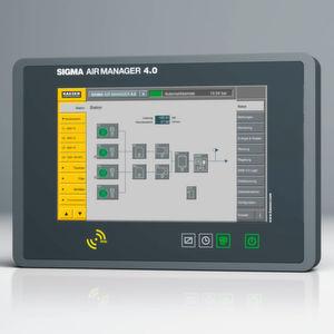 Maschinenübergreifende Steuerung für alle Druckluftkomponenten